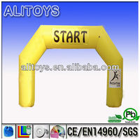 AliToys! 2013 hot selling and factory price Inflatable balloon Arch,inflatable entrance archf or events,inflatable