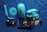 gas motor chopper bike / bycicle gas powered kit / motorcycle motor-bicicleta
