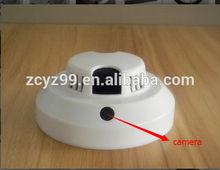 2014 caliente de la venta de humo detector de wifi cámara de vídeo del lazo de visión de malasia yz006