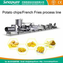 2015 Sinopuff Industrial Automatic Potato Chips Making Machine/Pringle Potato Chips Making Machine
