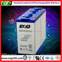 deep cycle agm gel battery 2v 800ah manufucturer in China, lead acid vrla 2v 800ah battery