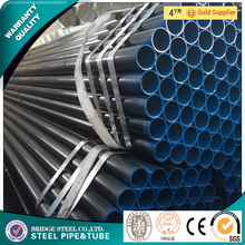 Black steel pipe/black surface treatment pipe for fence post manufacture in China