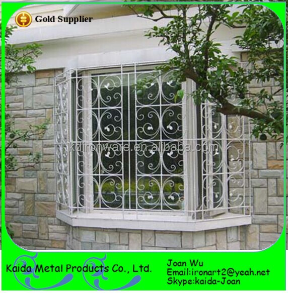 Spanish style wrought iron window grills home interior for Iron window design house