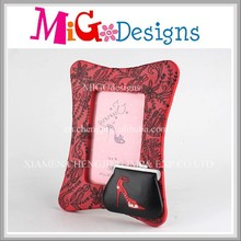 Unique OEM Christmas Red Fashion Bag Ornament Adult Picture Photo Frame