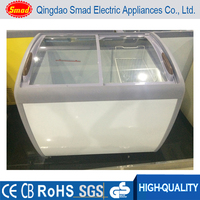 low power consumption deep freezer portable ice cream display chest freezer