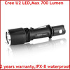 700 Lumens Powerful Rapid Response Cree U2 LED Tactical Flashlight