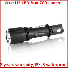 700 Lumens Powerful Rapid Response Cree U2 LED Tactical Flashlight