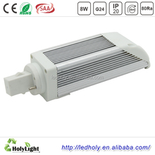Factory sales light 900LM 8W Cool White g24 base led lamp