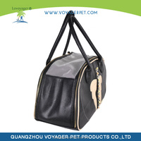 2015 dog bag PU pet carrier for wholesale