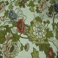 tejido de lino de impresión de la tela sofás modernos