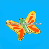 hand painted ceramic butterfly