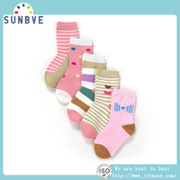 TOP SALE BEST PRICE!! unique design kids high quality socks from direct factory