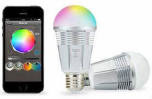 color-changing LED light bulb 5630 via Bluetooth wifi bulb led
