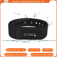 2015 latest alibaba china sport water waterproof strapless wristband heart rate monitor phone for samsung galaxy s5
