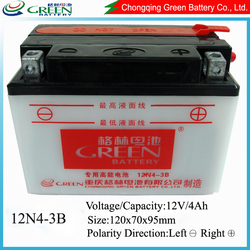 GREEN brand best sale scooter battery 12v