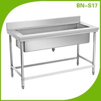 Garden outdoor water storage tank sink bench, large single sink hand wash sink prices