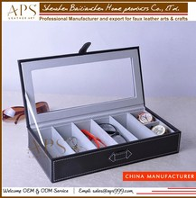 leather sunglasses display case, wholesale wood sunglass case