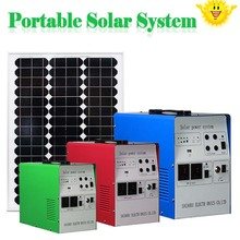 high efficient solar energy power panel system with TUV UL CE CHUBB warranty portable solar power system 240w inverter and 10a