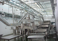 professional halal style sheep goat slaughtering equipment line
