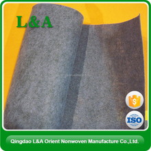 2015 Alibaba China Supplier Bottom short fiber geotextile price