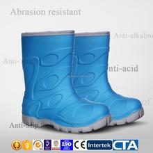 lovely PVC kids rain boots for kids