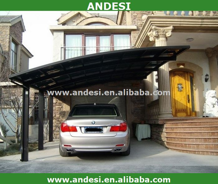 Prefabricated single slope carport buy single slope for Single slope carport