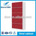la estructura de acero archivo de oficina muebles de metal de presentación del gabinete de almacenamiento