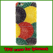 for iphone 6 tpu case color printing case for iphone 6 4.7 phone accessories