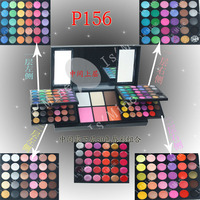 156 Color eyeshadow palette Full PRO eye shadow + Blush + Lipgloss