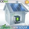 3KW Mobile Solar Power System in Split-type
