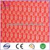 Plain Warp Knitted Polyester nylon Diamond mesh fabric for garments gifts bag