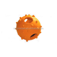 Dog Puppy Pet Toy Rubber Chew Hollow Ball