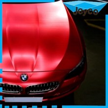 JEYCO VINYL 2015 new brushed matte ice 3m red chrome vinyl film car wrap with long duration