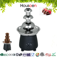 Electrics 3 Tier Stainless Steel Chocolate Fondue Fountain