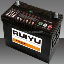 Auto Batteries 12V 65AH MF Lead acid Car Battery 65D26R