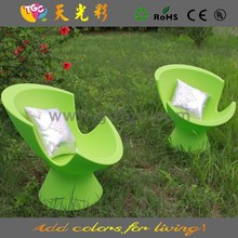 rotomolding colorfull chairs outdoor furniture outdoor double deck chair
