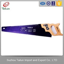 wood handle cutter cutting saw with 65Mn steel blade