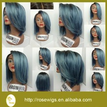 150% density human wigs ombre brazilian glueless omber lace front human hair ombre wig with baby hair lace front short bob wig