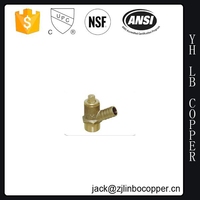 Bronze Backflow Preventer Test kits valve Lead-Free Ball Type Test Cock