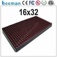 Free shipping leeman P10 LED module led name board designs aliexpress french