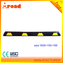 1830*150*100mm recycle rubber vehicle block used in parking