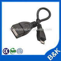 Benin 5pin mini to a male usb 2.0 cable Power extension cord