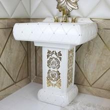 Modern Pedestal Sinks Ceramic Bathroom Sanitaryware