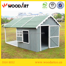 Luxury high-end metal pet house dog outdoor houses
