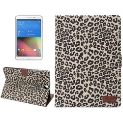Hot Selling Leopard Pattern PU Leather Flip Cover for Samsung Galaxy Tab A 8.0 T350