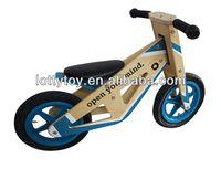 Wooden toys wooden balance bike