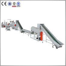 plastic recycling production line from Shenzhen