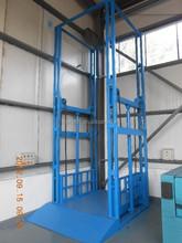 hydraulic platform lift/goods vertical hydraulic guide rail lift
