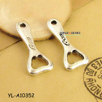 Silver Color Bottle Openers Pendants Charms Coke