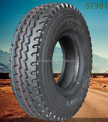 12R22.5 rib pattern truck and bus tyres from china tyre factory Maxxis quality hot selling